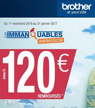 Brother les immanquables pro du 01-11-2016 au 31-01-2017
