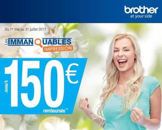 Brother les immanquables pro du 01-02-2017 au 30-04-2017