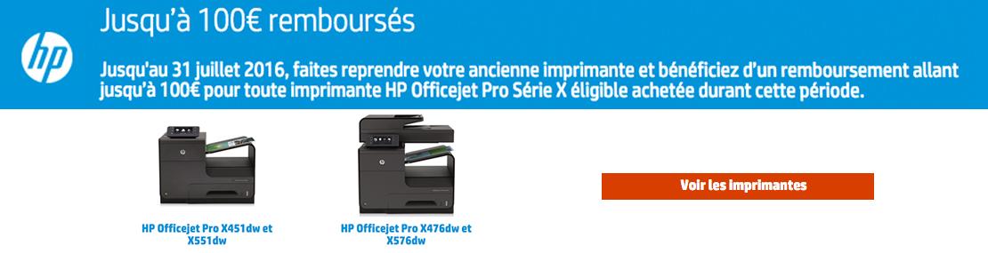 HP offre de remboursement