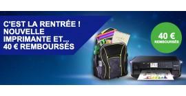 OFFRE EPSON : 40€ REMBOURSÉS